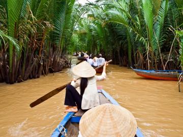 Vietnam Reise: Boote - Mekongdelta