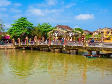 Reise Vietnam: Hoi An - Altstadt - Cau An Hoi Bridge