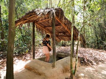 Reise Vietnam: Cu Chi Tunnelsystem