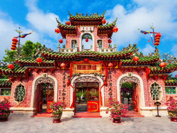 Reise Vietnam: Hoi An - Altstadt - Fukian Assembly Hall