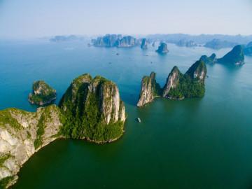 Reise Vietnam Halong Bucht