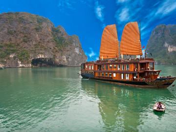 Vietnam Reise - Halong-Bucht