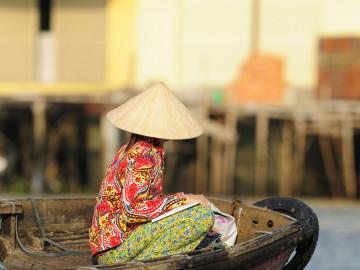Vietnam Reise: Mekongdelta Markt