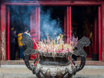 Reise Vietnam: Ngoc Son Temple Hanoi