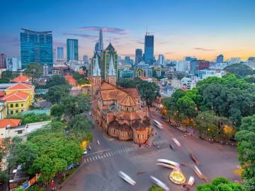 Reise Vietnam - Ho-Chi-Minh-Stadt - Saigon - Notre Dame Kathedrale
