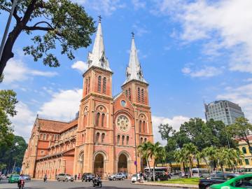 Reise Vietnam: Kathedrale Notre Dame von Saigon