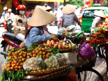 Reise Vietnam: Markt in Saigon