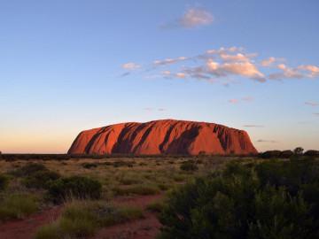 Australien Reise Ayers Rock