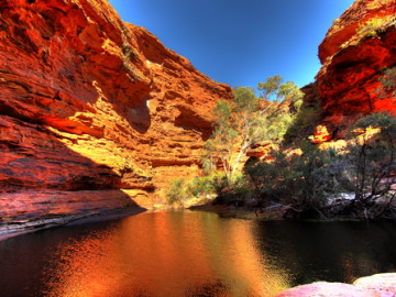 Australien Urlaub - Outback - King Canyon