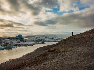 Island Höfn Glacier Lagoon