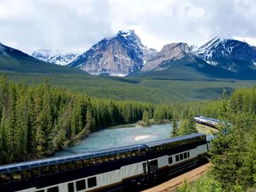 Kanada Reise: Zug Bahnfahrt