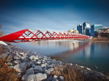 Reise Kanada - Calgary Peace Bridge