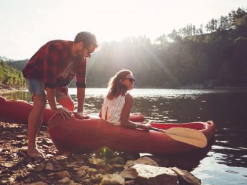 Kanadas Wildnis: Kanu fahren im Wildnis Resort
