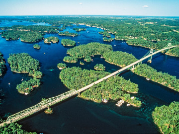 Kanada Reise: Thousand Islands