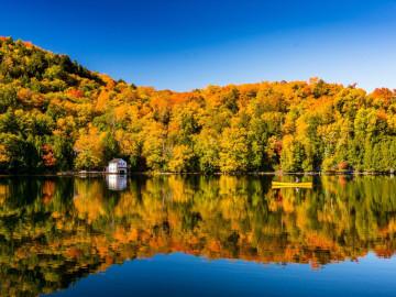 Kanada Reise - Herbstfärbung