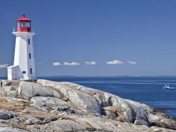 Kanada Reise: Peggy´s Cove Leuchtturm