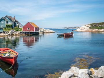 Kanada Reise: Peggy´s Cove Fischerdorf