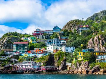 Reise Neufundland - St. Johns Hafen