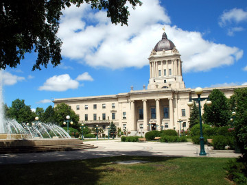 Kanada Reise: Winnipeg Legislative Building