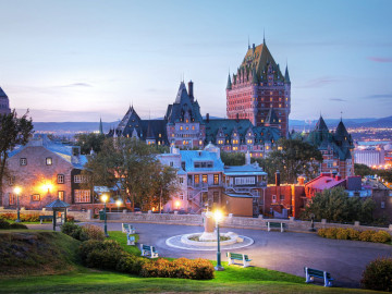 Kanada Quebec Skyline