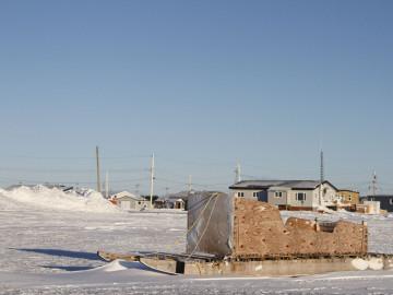 Kanada Arktis: Inuit Schlitten