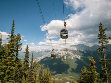 Kanada Reise: Gondel im Banff Nationalpark