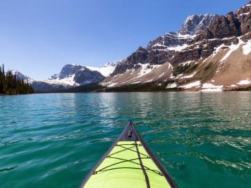 Kanada Reise: Kajak im Banff Nationalpark
