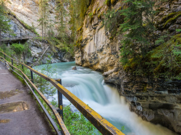 Kanada Reise: Johnston Canyon im Banff Nationalpark