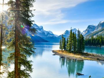 Kanada Reise: Maligne Lake im Jasper Nationalpark