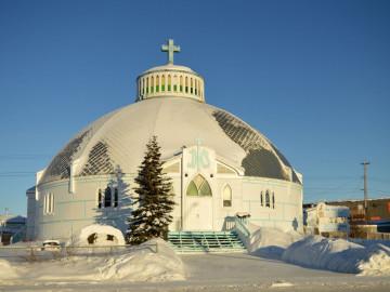 Kanada Reise: Kirche in Inuvik