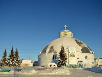 Reise Kanada: Kirche in Inuvik