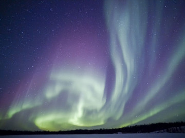 Kanada Reise: Polarlichter