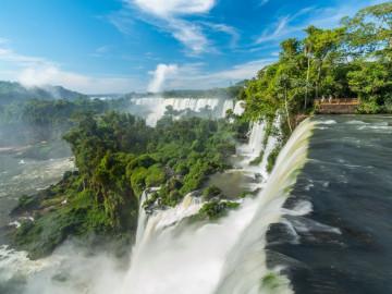 Rundreise Südamerika Argentinien Iguazú-Wasserfälle