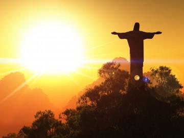 Brasilien Rio de Janeiro Christusstatue