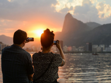 Rio de Janeiro Sonnenuntergang