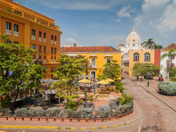 Reise Kolumbien Cartagena