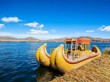 Rundreise Südamerika Peru Titicacasee