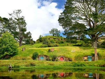 Neuseeland Australien Reise Hobbiton
