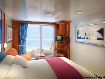 © Norwegian Cruise Line Kabine