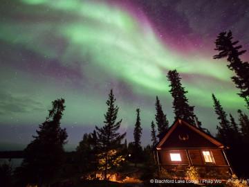 Kanadas Wildnis: Wildnis Resort und Polarlichter