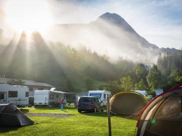 Campingplatz Wohnmobile
