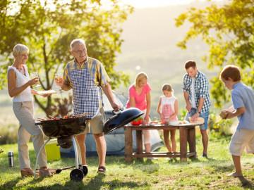 Campingreise Familie