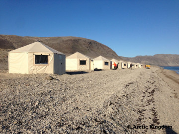 Kanada Expedition: Unterkunft