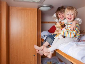 Familienzeit Campingreise