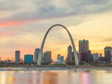 USA Reise St Louis Arch