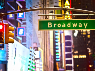 New York Reise Broadway