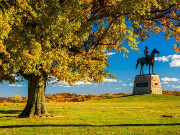 Reise USA Gettysburg