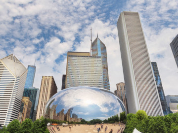 Chicago Millennium Park USA Reise