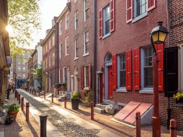 USA Reise: Philadelphia Elfreths Alley