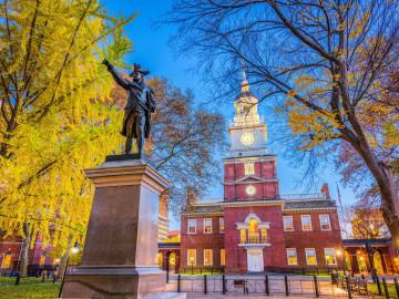 USA Reise - Independence Hall Philadelphia